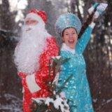 Костюмы деда мороза и снегурочки. Фото 1.