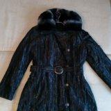Пальто женское новое на меху. Фото 1. Видное.