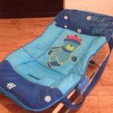 Шезлонг для новорожденных. Фото 1.