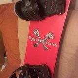 Продам сноуборд с крепами! дешево, даже очень!. Фото 4. Владивосток.