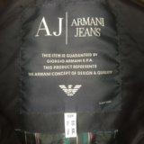 Куртка armani jeans б/у. Фото 3.