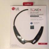 Bluetooth-гарнитура lg tone+ hbs-500. Фото 1.