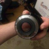 Canon ef 50mm f/1.8 stm,чехол и бленда. Фото 2. Москва.