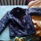 Кож.зимняя куртка. Фото 1.