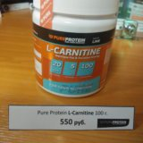 L-carnitine pureprotein. Фото 1. Владивосток.