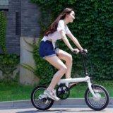Велосипед xiaomi qicycle, электрический складной. Фото 3.