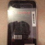 Аккумулятор чехол для iphone 5, 5 s. Фото 2.