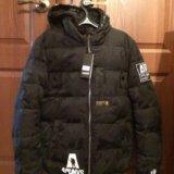 Зимняя мужская куртка на полиэстере. Фото 2.