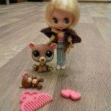 Лпс кукла блайз с мишкой. Фото 1.
