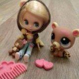Лпс кукла блайз с мишкой. Фото 2.