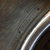 1 колесо новое, висело на запаске от lc80. Фото 2. Кодинск.