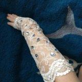 Свадебные перчатки. Фото 2. Хабаровск.