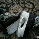 Коньки хоккей. Фото 1.