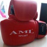 Боксерские перчатки aml-sport. Фото 1.
