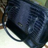 Кожаная сумка. Фото 1. Омск.
