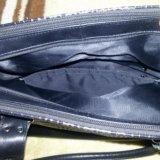 Кожаная сумка. Фото 2. Омск.