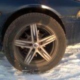Комплект колес. Фото 1.