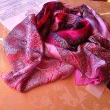 Новый fabretti натуральный шелк,палантин-платок. Фото 1. Грозный.