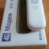 Новый 4g модем megafon m 100-3. Фото 3. Омск.