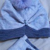 Шапка и шарф. Фото 1. Сургут.