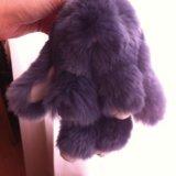 Мимишный брелок кролик. Фото 1.