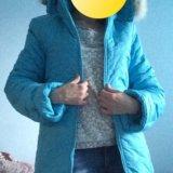 Куртка пуховик новый. Фото 1.