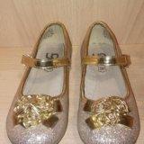 Туфли для девочки 27 размер. Фото 1.