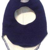 Детская зимняя шапка- шлем skiki новая. Фото 3. Уфа.