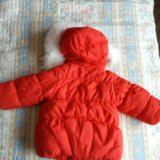 Новая зимняя куртка baby club р.86. Фото 2.
