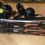 Горные лыжи salomon. Фото 2. Москва.