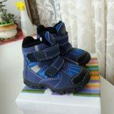 Новые сапоги ботинки р24. Фото 4.