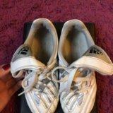 Бутсы шиповки adidas traxion. Фото 4.