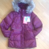Новая куртка рейма reima зима пуховая р128. Фото 1.
