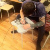 Рисую на одежде. Фото 2. Екатеринбург.