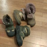 Ботинки зимние 2пары. Фото 2.