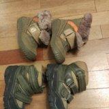 Ботинки зимние 2пары. Фото 3.