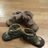 Ботинки зимние 2пары. Фото 4.