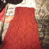 Платье цвета марсала. Фото 1. Санкт-Петербург.
