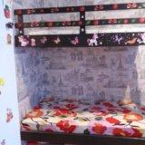 Двухъярусная кровать с матрасами . Фото 1.