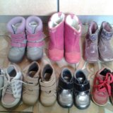 Обувь осень-зима с 21 по 24. Фото 1.