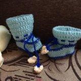 Тапочки детские ручной работы. Фото 3. Шахты.