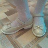 Туфельки на маленьком широком каблучке. Фото 2. Красноярск.