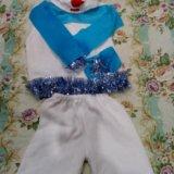 Костюм снеговика, для мальчика от 4-6 лет. Фото 1.