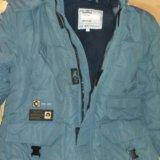 Куртка на мальчика с натуральным мехом. Фото 1. Московский.