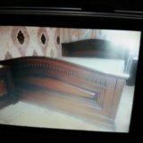 Кровать 2-спальная с инкрустацией.матрас ортопед н. Фото 1.