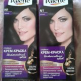 Краска для волос palette (черная). Фото 1. Чита.