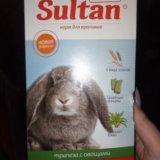 Корм для кроликов. Фото 1.