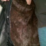 Кензо, оригинал !зимняя кожаная куртка на меху. Фото 1. Москва.