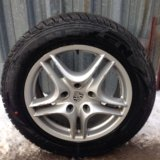 Продаю комплект колёс 255/55/r18. Фото 1.