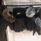 Перчатки новые!жен и муж тёплые!. Фото 1.
